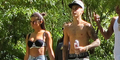 Jalan Bareng Justin Bieber, Selena Gomez Seksi Pakai Bikini