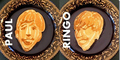 Nathan Shields Gambar Wajah Anggota The Beatles Dengan Adonan Pancake