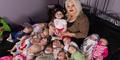 Wanita Amerika Terobsesi Menghidupkan Koleksi 300 Boneka