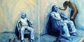 Wow! Seniman Alexa Meade Melukis di Tubuh Manusia