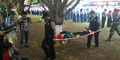 13 Siswa Pingsan Saat Upacara Bersama Presiden SBY di Lubang Buaya