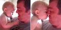 Aksi Bayi Lucu Bingung Lihat Wajah 'Baru' Ayahnya Jadi Hits di YouTube