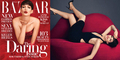 Foto Topless Anne Hathaway di Majalah Harper's Bazaar