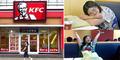 Diputus Pacar, Wanita Patah Hati Tinggal di Restoran KFC Selama Seminggu