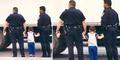 Dua Polisi Swedia Bantu Kerjakan PR Bocah Kesepian yang Mengaku Dirampok