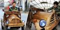 Foto Mobil Kayu Ramah Lingkungan Karya Liu Fuling