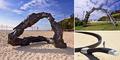 Ada Wajan hingga Merak Raksasa di Pameran Seni 'Sculpture by the Sea' di Pantai Australia