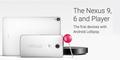 Resmi Dirilis, Ini Spesifikasi Nexus 6 & Nexus 9