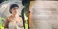 Foto Surat Lamaran Nikah Julia Perez dari Pria Cirebon