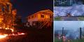 Lava Gunung Kilauea Meluber di Pemukiman dan Hancurkan Rumah Warga