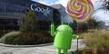 Patung Android Lollipop Hiasi Taman Markas Google