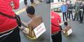 Pelaku Pelecehan Seksual di Stasiun Manggarai Ditelanjangi dan Dipermalukan