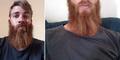 Pria Brewok Australia Sumbangkan Cukuran Rambutnya di Internet
