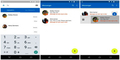 Tampilan Google Messenger Android Lollipop Mirip WhatsApp