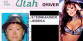 Bintang Porno Asia Carrera Foto SIM Pakai Helm Bakul Nasi