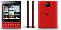 Bocoran Foto BlackBerry Passport Merah