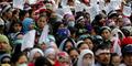 Demo Buruh DKI Jakarta Tolak UMP 2015 Rp 2,7 Juta