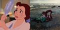 Foto Kisah Suram Kartun Disney di Kehidupan Nyata