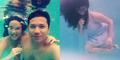 Foto Selfie Seksi Gisel Pamer Perut Hamil di Dalam Air