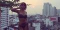 Foto Seksi Narsha BEG Pakai Bikini di Thailand