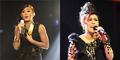 Novita Dewi-Agnes Monica Meriahkan Konser Rise for One 19 November 2014