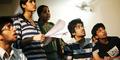 Para Mahasiswa India Serukan Hak Mencontek