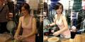 Seksinya Gadis Penjual Crepes di Taiwan