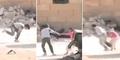 Video Aksi Heroik Bocah Suriah Selamatkan Nyawa Gadis Cilik
