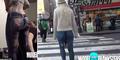 Video: Model Cantik Jalan Bugil Tapi Tidak Digubris