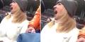 Video Suporter Wanita Bersuara Mengerikan