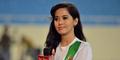 Putri Violla, Reporter Cantik Indonesia Jadi Idola Piala AFF 2014