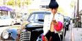 Foto Bai Ling Tampil Seksi & Nip Slip di Los Angeles