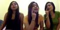 Heboh 3 Gadis Seksi Lipsync Lagu Malu Sama Kucing