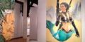 Lukisan Susi Duyung: Menteri Susi jadi Putri Duyung Seksi Bawa Pistol