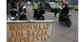 Netizen Kecam Foto Polisi Tidak Pakai Helm di Kawasan Semanggi