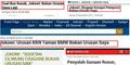 Ribuan Netizen Sindir Jokowi dengan Tagar #BukanUrusanSaya