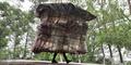 Pria Siput Asal Tiongkok Hidup 5 Tahun di 'Rumah Portable'