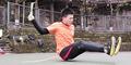 Video Pemuda Tiongkok Jago Skipping dengan Bokong