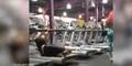 Video Pria Jaim Jatuh dari Treadmill Lalu Pura-Pura Push Up