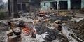 14 Pria India Ditangkap Usai Membakar Desa Penduduk Muslim
