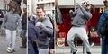 Aksi Cristiano Ronaldo Menyamar jadi Pengemis