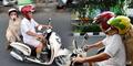 Anjing Naik Motor di Surabaya Jadi Headline Media Asing
