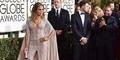 Belahan Dada Seksi Jennifer Lopez di Golden Globe 2015