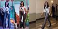 Elvira Devinamira Seksi Pakai Baju Kim Kardashian di GR Miss Universe 2015