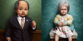 Unik, Foto Anak Kecil Berdandan Orang Tua Karya Zachary Scott