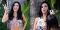 Elvira Devinamira Tampil Seksi dengan Bikini Ceria di Miss Universe 2015