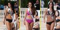 Foto Kontestan Miss Universe 2015 di Fashion Show Bikini Yamamay