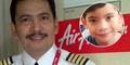 Putra Pilot AirAsia Kapten Irianto Belum Tahu Nasib Ayahnya