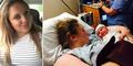 Tidak Sadar Hamil 9 Bulan, Katherine Kropas Tiba-Tiba Melahirkan