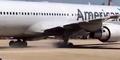 Video Insiden Pesawat American Airlines Alami Pecah Ban di Brazil